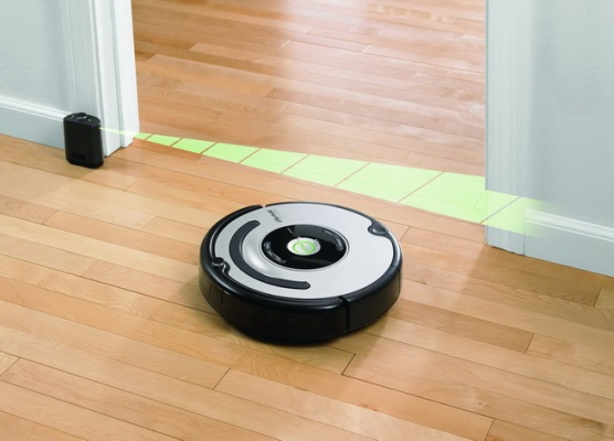 Virtual Wall Roomba+Scooba EXAMPLE